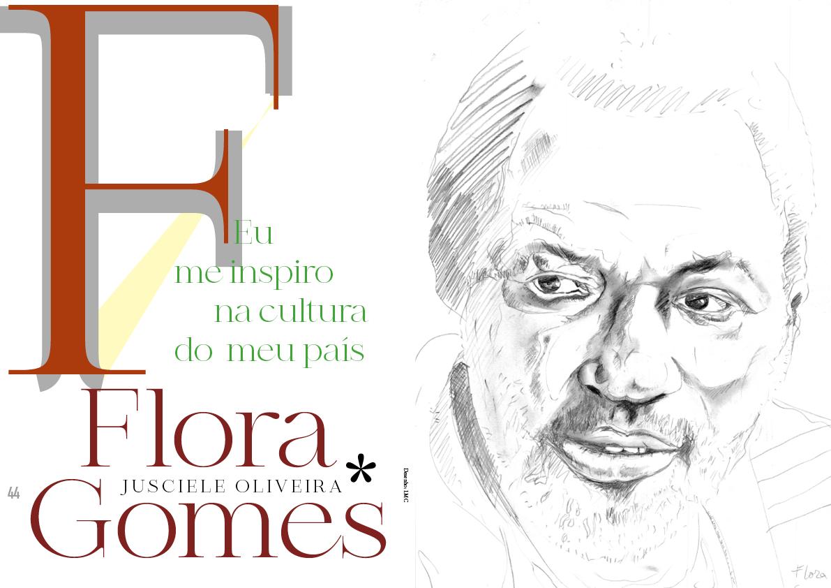 Flora Gomes – Eu me inspiro na cultura do meu país