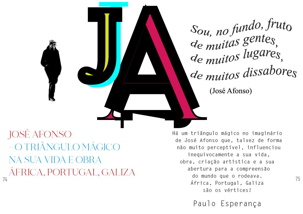 Zeca Afonso – O Triângulo Mágico na sua Vida e Obra | África,Portugal, Galiza