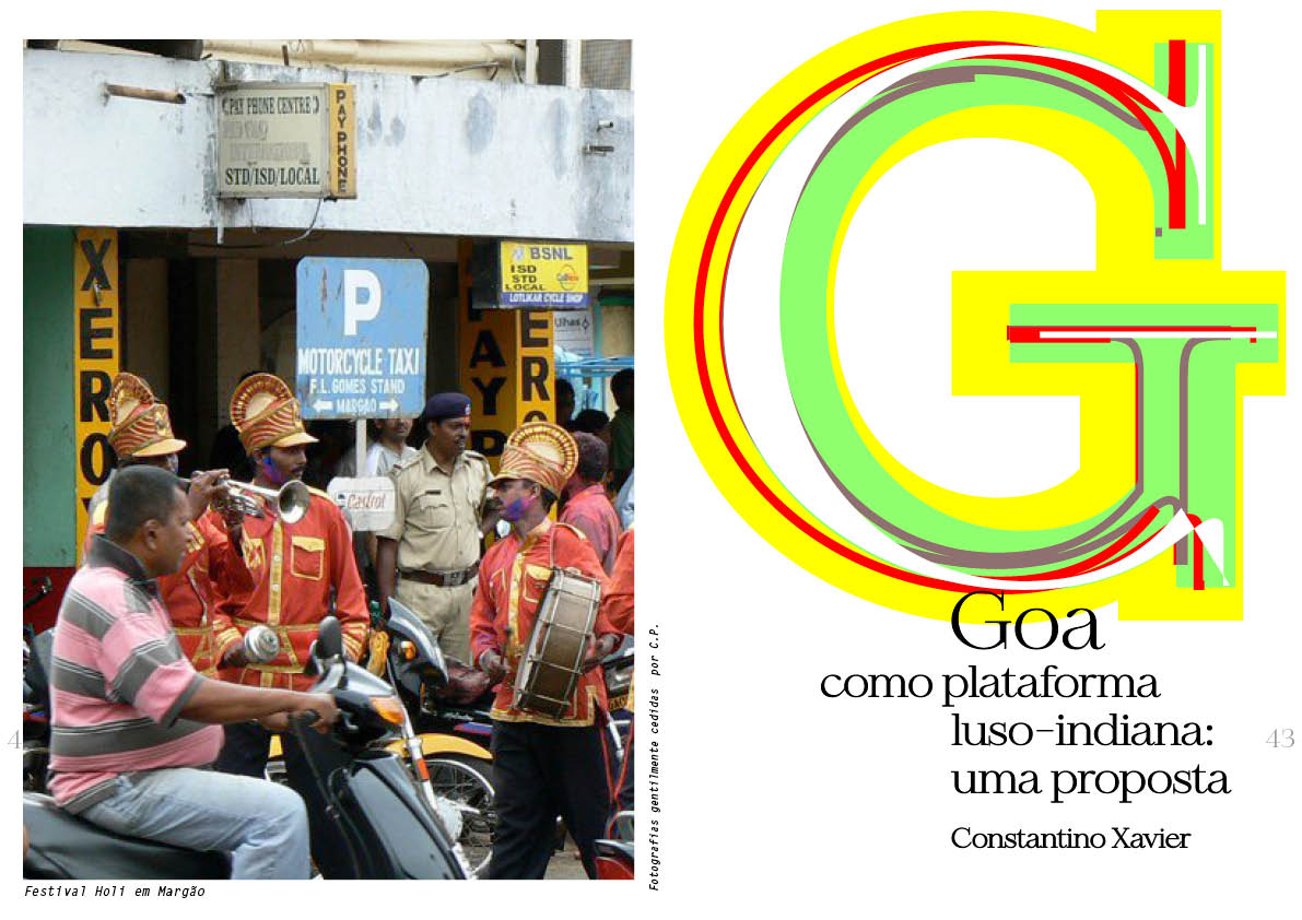 Goa como plataforma luso-indiana: uma proposta