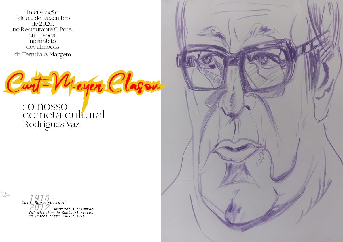 Curt Meyer-Clason: o nosso cometa cultural
